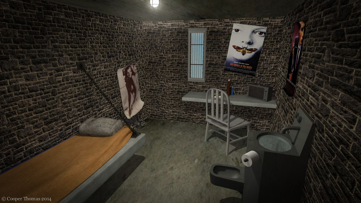 Prison Cell 3d Model Cooper Thomas