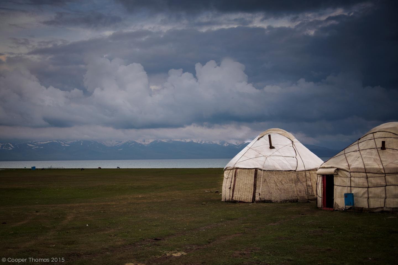 Lake yurt yurt. Tired of this yet?